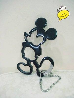《東京家族》黑 米奇 吊飾/鑰匙圈
