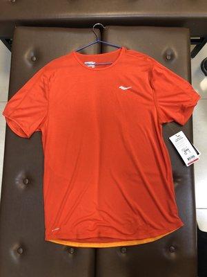 小黑體育用品索康尼SAUCONY  5折短袖排汗衣(SY81165-TNG)