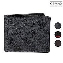 GUESS Men's Leather Slim Bifold Wallet 真皮雙折錢包 男皮夾 短夾 錢包 L68