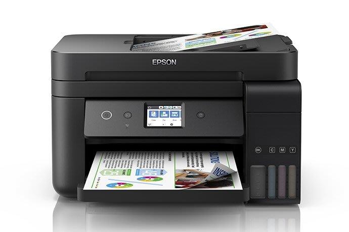【OA小舖】原廠活動 三年保 含稅 EPSON  L6190 雙網四合一 傳真 連續供墨印表機 另售L6170