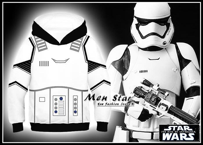 【Men Star】免運費 STAR WARS 天行者的崛起 兒童帽T 男童 女童 芮 白兵 黑兵 絕地武士 星際大戰