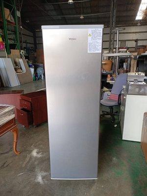 桃園國際二手貨中心---{惠而浦WIF-1193G} 9.99成新~直立式冷凍櫃 / 直立式冰櫃 / 抽屜式冰櫃 /