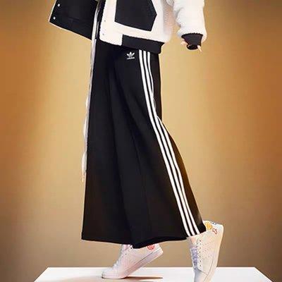 【Dr.Shoes】Adidas Original OG RELAXED PB 寬褲 長褲 黑色 三葉草 GD2273