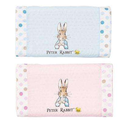 奇哥Peter Rabbit-花園比得兔乳膠健康枕-藍色/粉紅(附枕套)PLA64300