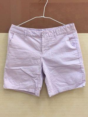 。☆二手☆。NET五分褲(36)//粉紫