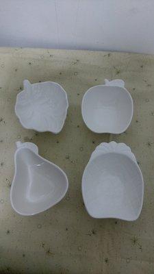 【股東會紀念品】LEMANI 樂曼尼4入多用途造型碟禮盒 小碟子 盤子 陶瓷 日月光