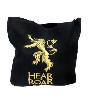 權利的游戲Hear Me Roar大手提帆布袋