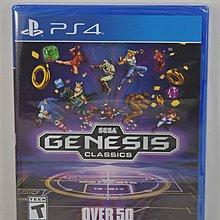 (全新送雙面海報) PS4 SEGA MEGA Drive Genesis Classics Collection 懷舊遊戲機合集 (美版)-Sonic 獸王記