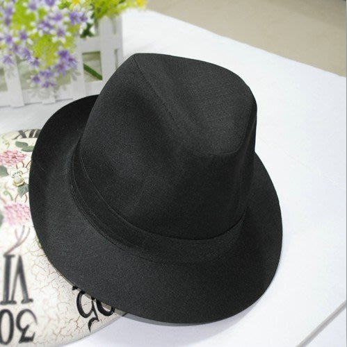正韓版西服小禮帽演出結婚舞臺帽子男生士英倫上海灘許文強爵士帽潮女生