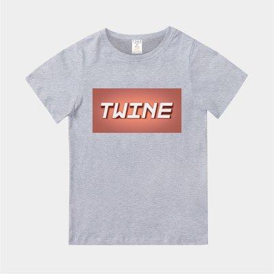 T365 MIT 親子裝 T恤 童裝 情侶裝 T-shirt 標語 話題 口號 標誌 美式風格 slogan TWINE