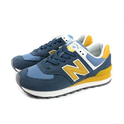 =E.P=NEW BALANCE 574 女鞋 麂皮 復古 藍色 黃色 可愛 土耳其藍色 WL574LDD