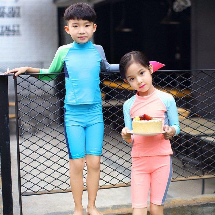 [舒漫]2003泳衣兒童泳衣泳褲潛水衣連身泳衣生男生2523寶寶泳衣