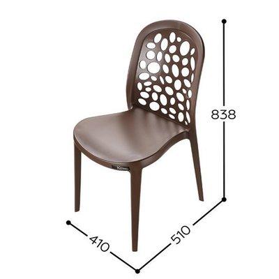 4張以上免運費~峇里島休閒椅/塑膠椅/備用椅/塑膠板凳/有椅背/有靠背/餐廳可用/點心椅/餐椅/咖啡椅/烤肉椅/泡茶椅