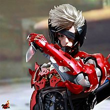 Hot Toys Metal Gear Rising Revengeance VGM19 Raiden Inferno Armor Figure HOTTOYS