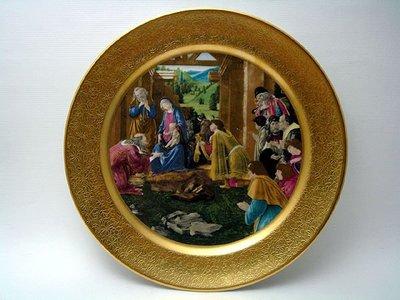【timekeeper】  美國製Pickard皮卡德Adoration of the Magi三王朝拜盤飾(免運)