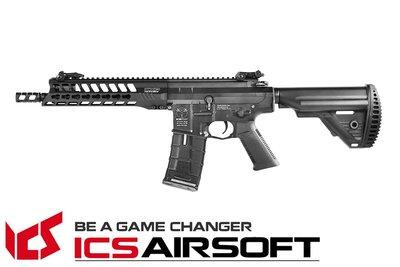 【翔準軍品AOG】ICS CXP-YAK SBR(黑)S1托 EBB Keymod 全金屬 電動 生存遊戲 ICS-4