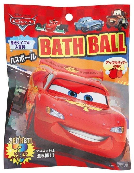 日本 汽車總動員 CARS 閃電麥坤 入浴劑