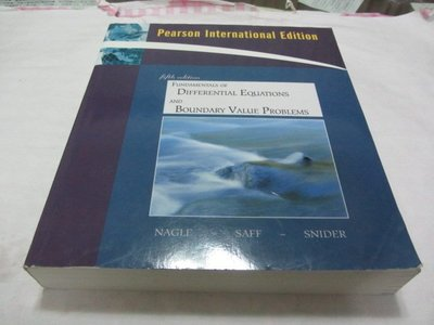 Fundamentals of Differential Equations and Boundary Value