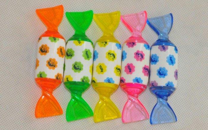 天使熊小鋪~日本帶回peko牛奶妹糖果造型螢光筆 現貨:橘/綠/黃/粉/藍色5款 全新現貨