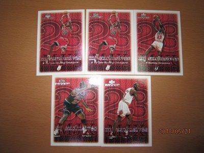 網拍讀賣~Michael Jordan~MJ~喬丹~大帝~98/99~20年歷史~mj exclusives~共5張~