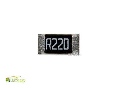 (ic995) 1206 貼片電阻 RS-06JL7-0R22 0.22Ω 5% 電阻 電子材料 壹包10入 #4274