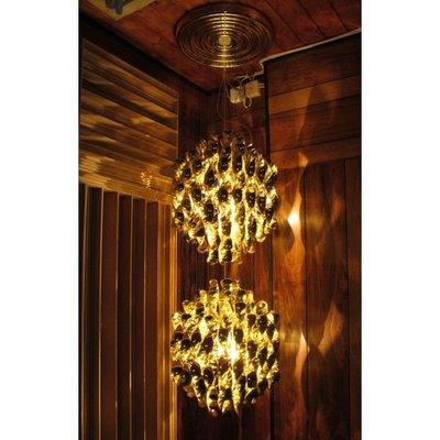 D✚L 正品燈具 Verpan Spiral SP2 Ceiling Lamp 瀑布 雙層 垂吊式吊 Verpan 代購