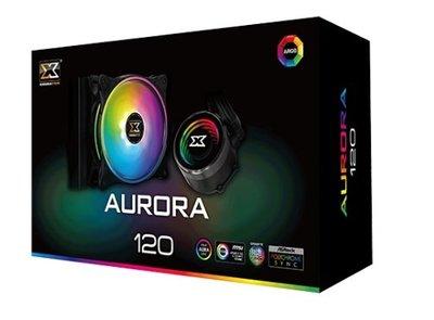 『高雄程傑電腦』富鈞 XIGMATEK AURORA 120 A.RGB 12CM 一體式水冷 免運費【實體店家】