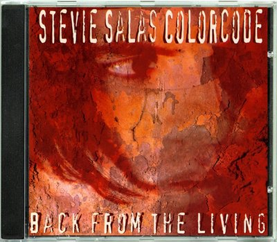 Stevie Salas Colorcode - Back From The Living 二手亞版