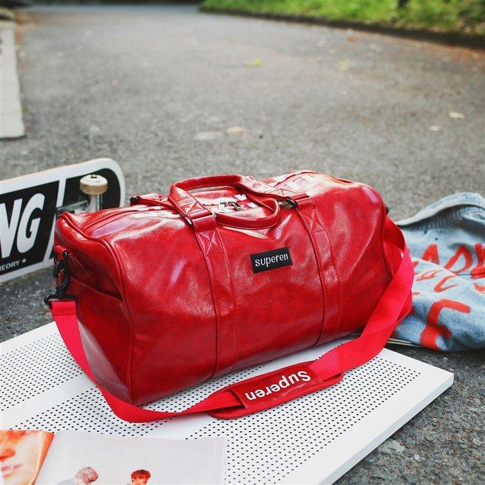 爆款-行李包男潮牌大容量超大行李袋手提女運動健身包短途旅行包旅行袋-禧禧雜貨店