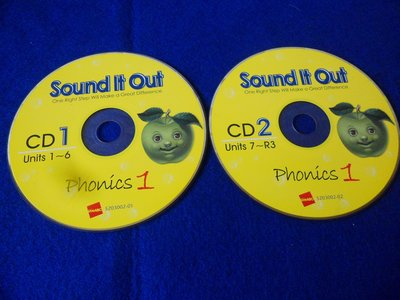 【彩虹小館】Z27兒童CD~Sound it Out(CD1+CD2)共2片~Live ABC