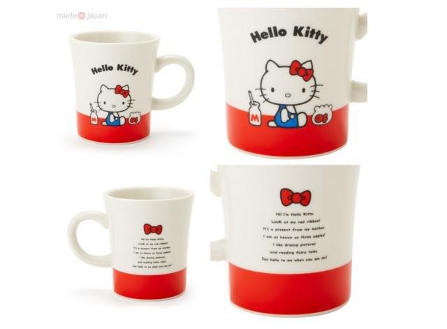 【東京速購】日本製 三麗鷗 HELLO KITTY 45週年 紀念 馬克杯 四款