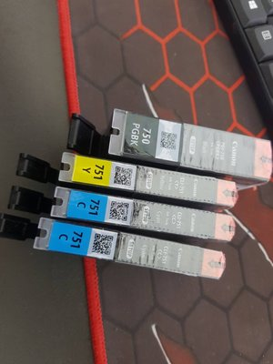 單一價 裸裝 CANON PGI-750 751 黑色原廠墨水匣 彩色少50元 桃園市