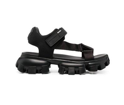 [全新真品代購-S/S21 新品!] PRADA 厚底 涼鞋 / 拖鞋 (Monolith)