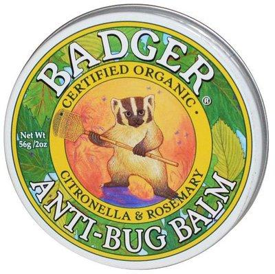 §少奶奶代購§ 大罐 Badger Anti-Bug Balm 蚊蟲怕怕膏 56g