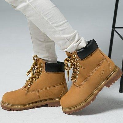 Ovan 女款 GECKO STEP 品牌 基本經典款 中筒 黃靴 馬丁靴 戰鬥靴 登山靴 工作靴 情侶鞋