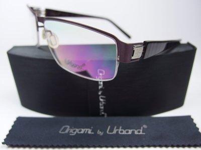 【信義計劃】全新真品 Urband 日本手工眼鏡 鈦金屬半框 專利彈簧膠腳 超輕超越 Markus T Flair