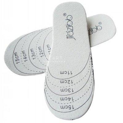 【可愛村】兒童柔軟豚皮可裁剪鞋墊 一雙入 皮鞋墊 童鞋