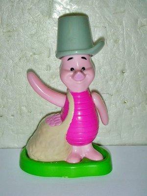 S1.(企業寶寶玩偶娃娃)此款少見2005年麥當勞發行小熊維尼(pooh)小豬造型公仔!!--值得擁有!