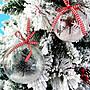 療癒吊飾【6cm透明裝飾圓球】透明塑膠球/壓克力圓球/塑膠球/裝飾球/聖誕/透明空心球/手作泡泡鑰匙圈/會場佈置配件扭蛋