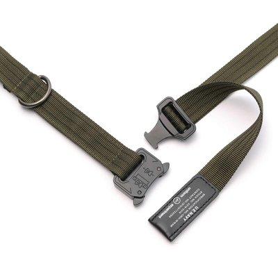 19SS Uniform Experiment UEN DUTY BELT 金屬扣 機能 軍風 腰帶 黑 橘 军绿 3色