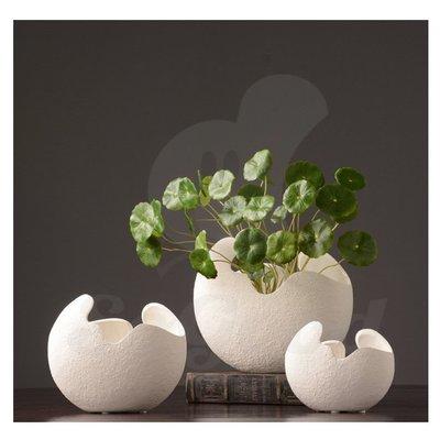 北歐家居陶瓷花瓶 現代簡約創意插花瓶裝飾品(小號)_☆[好裝飾_SoGoods優購好]☆