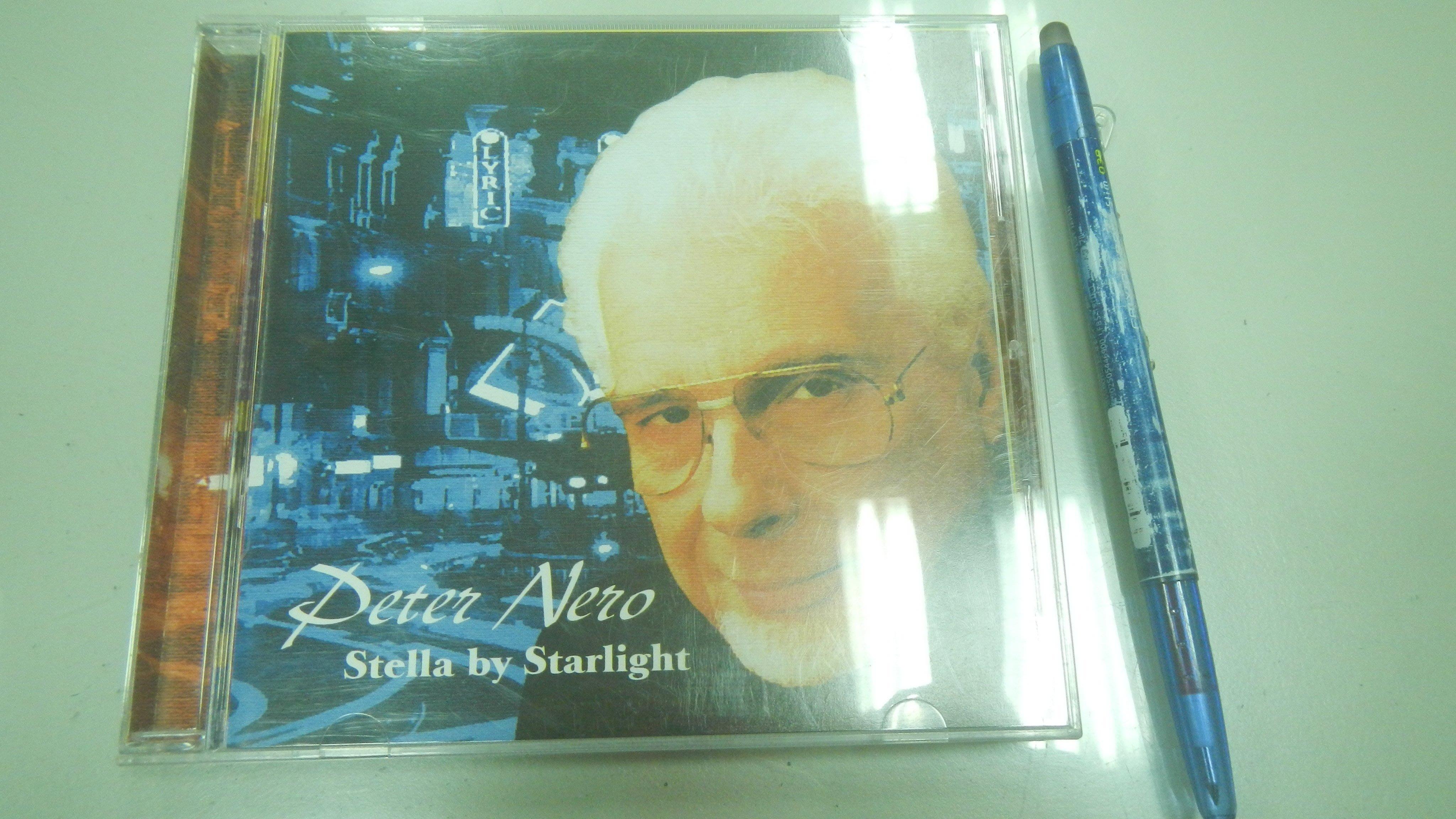 (歡迎詢問價錢)D6-2cd☆1724年出版『Stella By Starlight』PETER NERO《金革》
