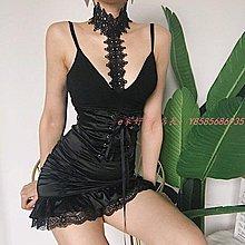 【e家好物】 新款打底內搭蕾絲拼接低胸V領掛脖性感低胸氣質吊帶背心K145277