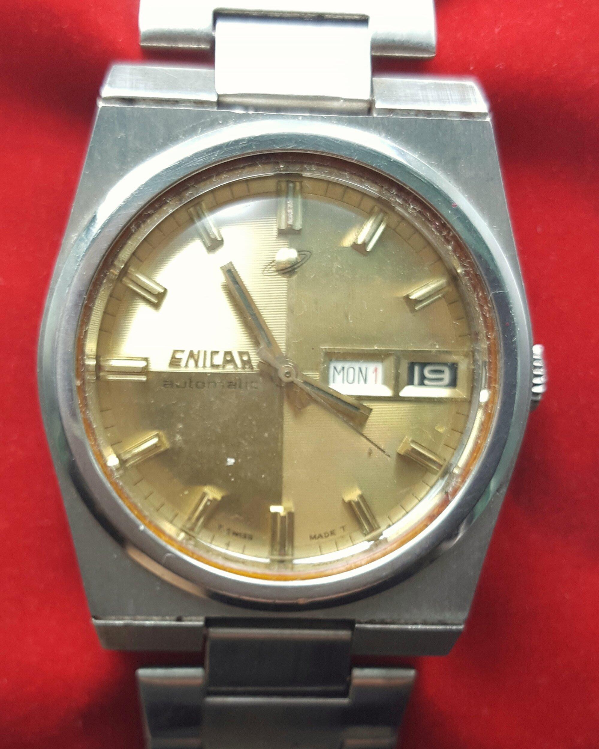 OQ精品腕錶 瑞士 英納格錶自動上鍊機械錶