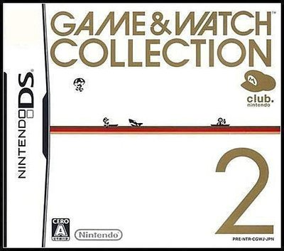 NDS 全新日版《任天堂俱樂部特典》【Game and Watch Collection 2】Club Nintendo