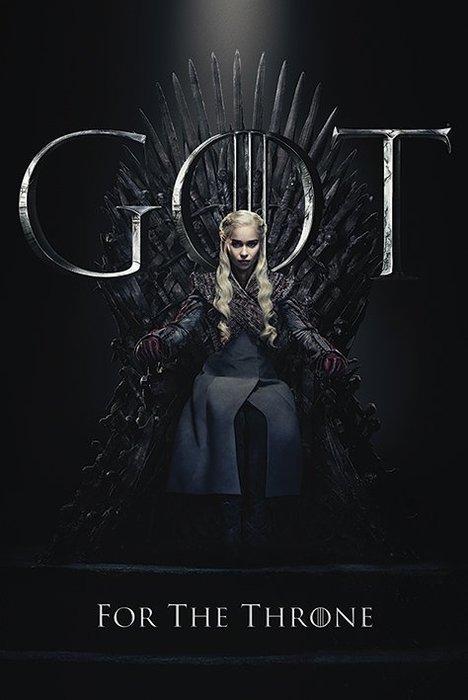 英國進口海報 PP34492 ( 權力遊戲 Game Of Thrones (Daenerys))