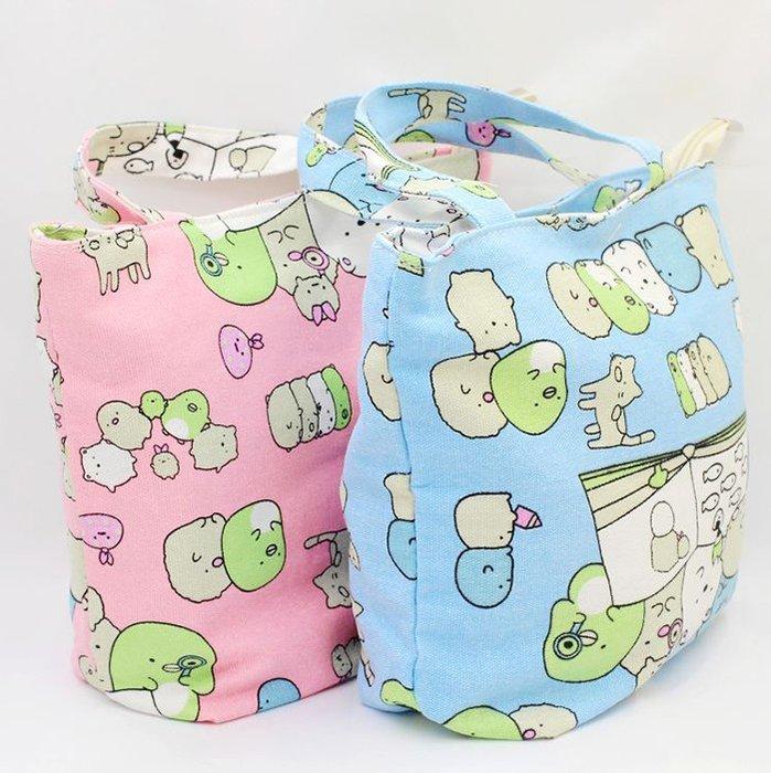 【現貨 店長激推 限時下殺↘159(原價$189)】可愛角落生物手提袋便當袋帆布手提袋環保袋
