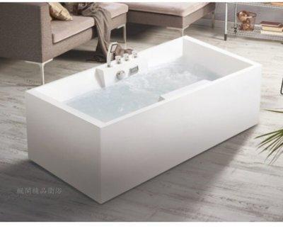 |楓閣精品衛浴|方型 獨立浴缸 F5013