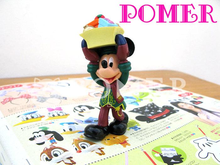 ☆POMER☆日本東京迪士尼樂園 絕版正品 活動限定 非賣品 米奇 聖誕節 禮物 可愛 精緻 立體公仔 擺飾 裝飾 玩具