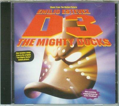 """[原聲帶]-""""冰上特攻隊(D3-The Mighty Ducks)""""- J.A.C. Redford,美版"""